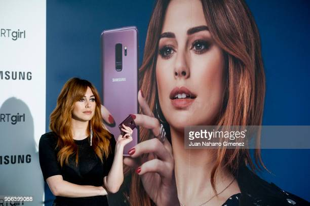 Spanish actress Blanca Suarez is presented as the new ambassador for 'SMARTgirl' by Samsung at Ephimera on May 9 2018 in Madrid Spain