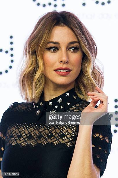 Spanish actress Blanca Suarez presents GHD Christmas campaign at Nepturno Palace on October 25 2016 in Madrid Spain