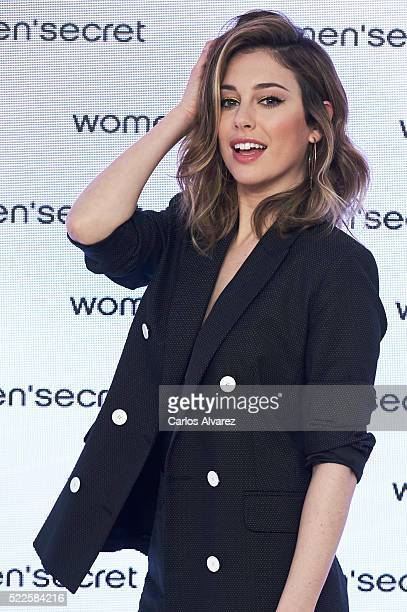 Spanish actress Blanca Suarez presents My Sexy Paradise campaign by Women'Secret on April 20 2016 in Madrid Spain