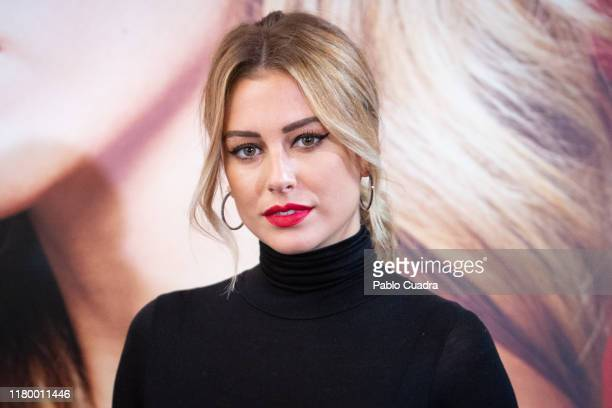Spanish actress Blanca Suarez presents 'RougeGby Blanca Suarez' at Santo Mauro Hotel on October 09 2019 in Madrid Spain