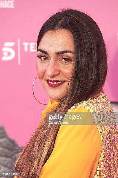 Spanish actress Candela Pena attends 'Kiki El Amor Se Hace' premiere at the Capitol premiere on March 30 2016 in Madrid Spain