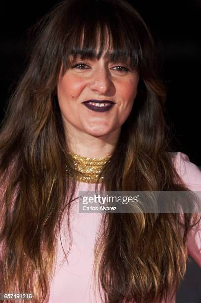 Spanish actress Candela Pena attends the 'Pieles' premiere on day 8 of the 20th Malaga Film Festival at the Cervantes Teather on March 24 2017 in...
