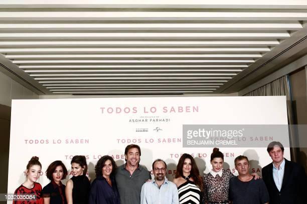 Spanish actress Carla Campra Spanish actress Inma Cuesta Spanish actress Sara Salamo Spanish actress Elvira Minguez Spanish actor Javier Bardem...
