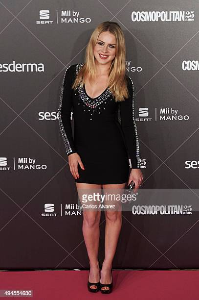 Spanish actress Carla Nieto attends the VIII Cosmopolitan Fun Fearless Female Awards at the Ritz hotel on October 27 2015 in Madrid Spain