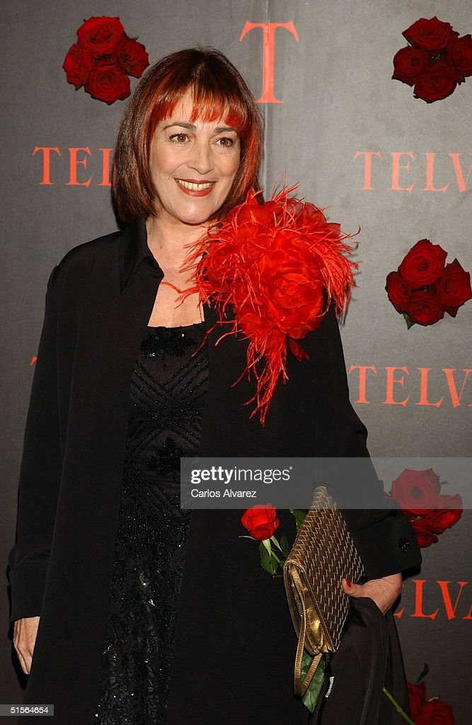 Spanish actress Carmen Maura attends the 'Telva Magazine Fashion Awards,' presided over by designer Jean Paul Gaultier and Princess Cristina of Spain, at Teatro Alcala on Ocotber 25, 2004 in Madrid, Spain.