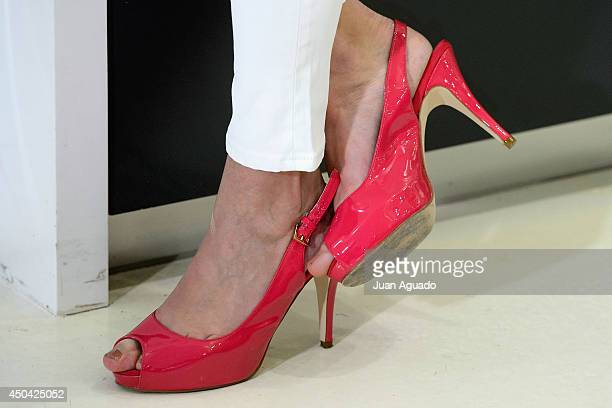 Spanish Actress Carolina Cerezuela attends a photocall as she is presented as the new face of Cebralin on June 11 2014 in Madrid Spain