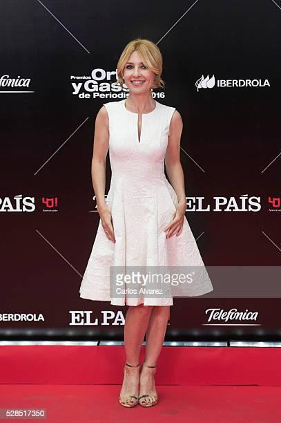 Spanish actress Cayetana Guillen Cuervo attends 'Ortega Y Gasset' journalism awards 2016 at Palacio de Cibeles on May 05 2016 in Madrid Spain