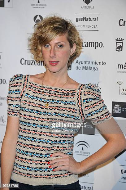 Spanish actress Cecilia Freire attends Malaga Film Festival presentation party at the Casa de America on March 23 2010 in Madrid Spain