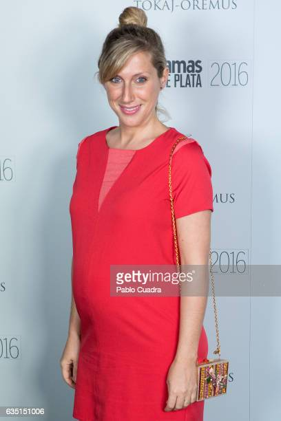 Spanish actress Cecilia Freire attends the 'Fotogramas de Plata' awards at 'Tatel' Restaurant on February 13 2017 in Madrid Spain