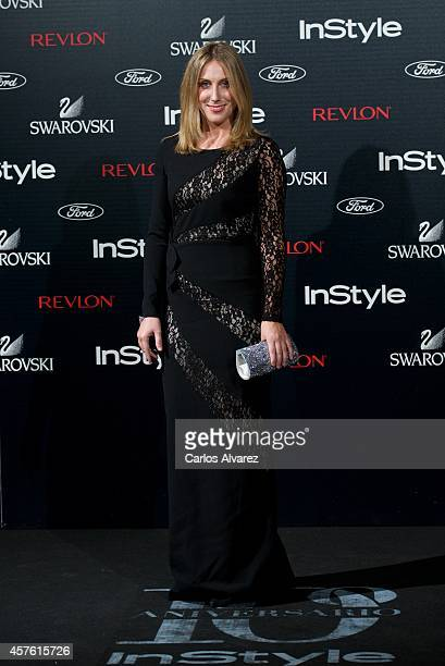 Spanish actress Cecilia Freire attends the In Style Magazine 10th Anniversary party at the Melia Fenix Hotel on October 21 2014 in Madrid Spain
