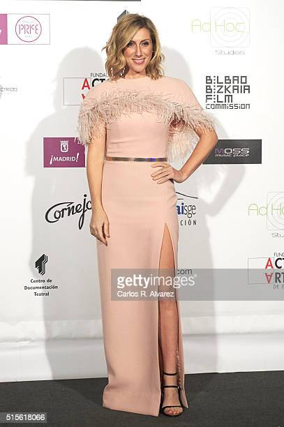 Spanish actress Cecilia Freire attends the Union de Actores awards 25th anniversary at the Circo Price on March 14 2016 in Madrid Spain