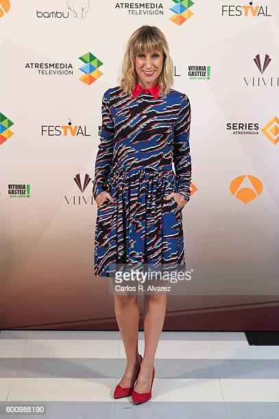 Spanish actress Cecilia Freire attends Velvet photocall at Palacio de Congresos during FesTVal 2016 Day 5 on September 9 2016 in VitoriaGasteiz Spain