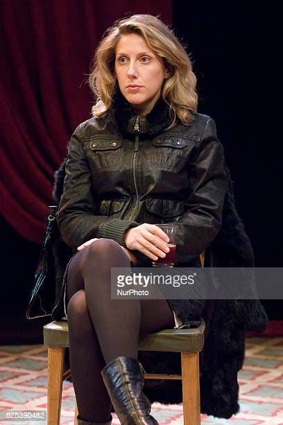Spanish actress Cecilia Freire presents the play OUR BROTHER you could see in the theater Ferman Gomez in Madrid on September 5 2013 Photo Oscar...