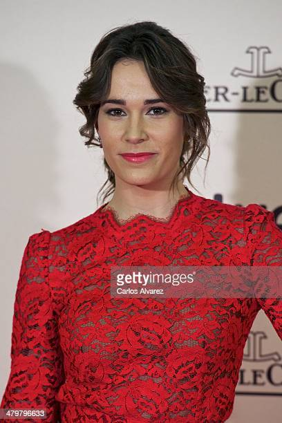 """Spanish actress Celia Freijeiro attends the """"Enemy"""" premiere at the Palafox cinema on March 20, 2014 in Madrid, Spain."""
