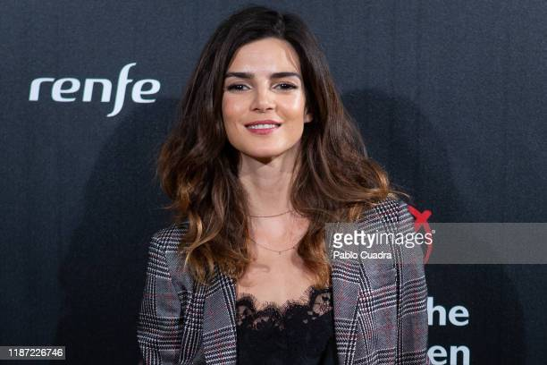 Spanish actress Clara Lago attends 'Save The Children' awards 2019 at Caixa Forum on November 12 2019 in Madrid Spain
