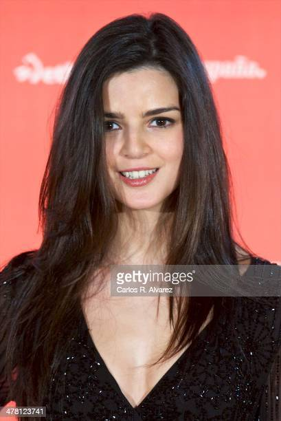 Spanish actress Clara Lago attends the Ocho Apellidos Vascos photocall at the Hesperia Hotel on March 12 2014 in Madrid Spain