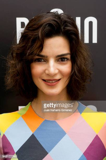 Spanish actress Clara Lago presents Silk Epil at NH Collection Abascal Hotel on April 12 2018 in Madrid Spain
