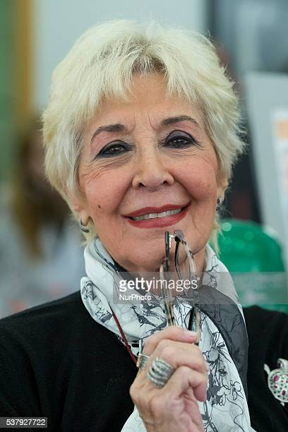 Spanish actress Concha Velasco presents 'Abuelo del Ano' campaign on June 2 2016 in Madrid Spain
