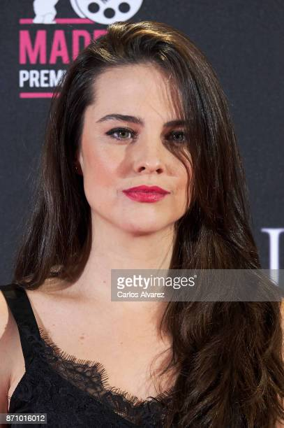 Spanish actress Cristina Abad attends the 'Musa' premiere at the Callao cinema on November 6 2017 in Madrid Spain