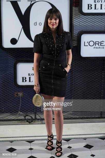 Spanish actress Cristina Abad attends the 'Yo Dona' party at Only You Hotel Atocha on January 23 2018 in Madrid Spain