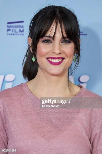 Spanish actress Cristina Abad attends 'Thi Mai Rumbo a Vietnam' premiere at the Callao cinema on January 8 2018 in Madrid Spain