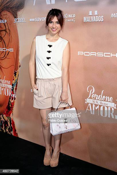 Spanish actress Cristina Brondo attends 'Perdona Si Te LLamo Amor' premiere at 'Cinesa Mendez Alvaro' Cinema on June 16 2014 in Madrid Spain