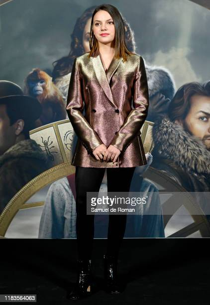 Spanish actress Dafne Keen attends 'La Materia Oscura' Madrid Photocall on October 26 2019 in Madrid Spain