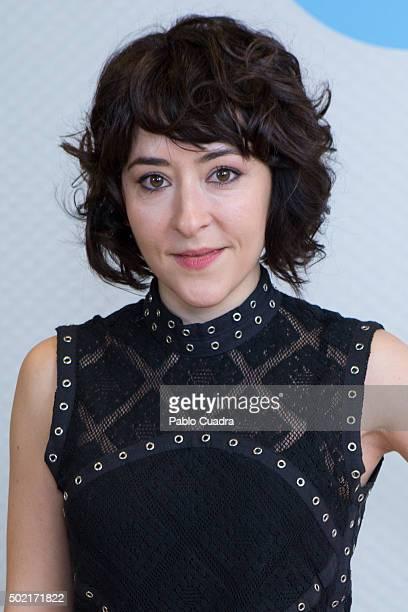 Spanish actress Elena Alferez presents the 'Chiringuito de Pepe' Second Season at Mediaset Studios on December 21 2015 in Madrid Spain