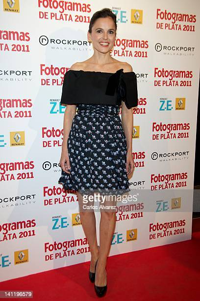 Spanish actress Elena Anaya attends the Fotogramas Awards 2012 at Joy Eslava Club on March 12 2012 in Madrid Spain