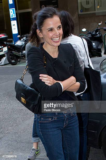 Spanish actress Elena Anaya is seen on May 6 2015 in Madrid Spain