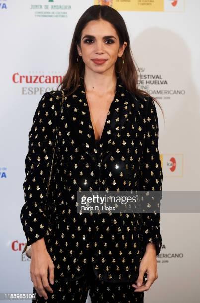 Spanish actress Elena Furiase attends the presentation of Huelva's Iberoamerican Cinema Festival on November 06 2019 in Madrid Spain