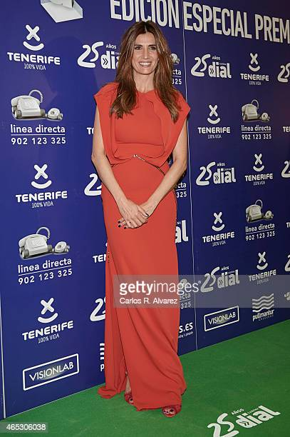 Spanish actress Elia Galera attends the Cadena Dial Awards 2014 press room at the Recinto Ferial Auditorium on March 5 2015 in Tenerife Spain