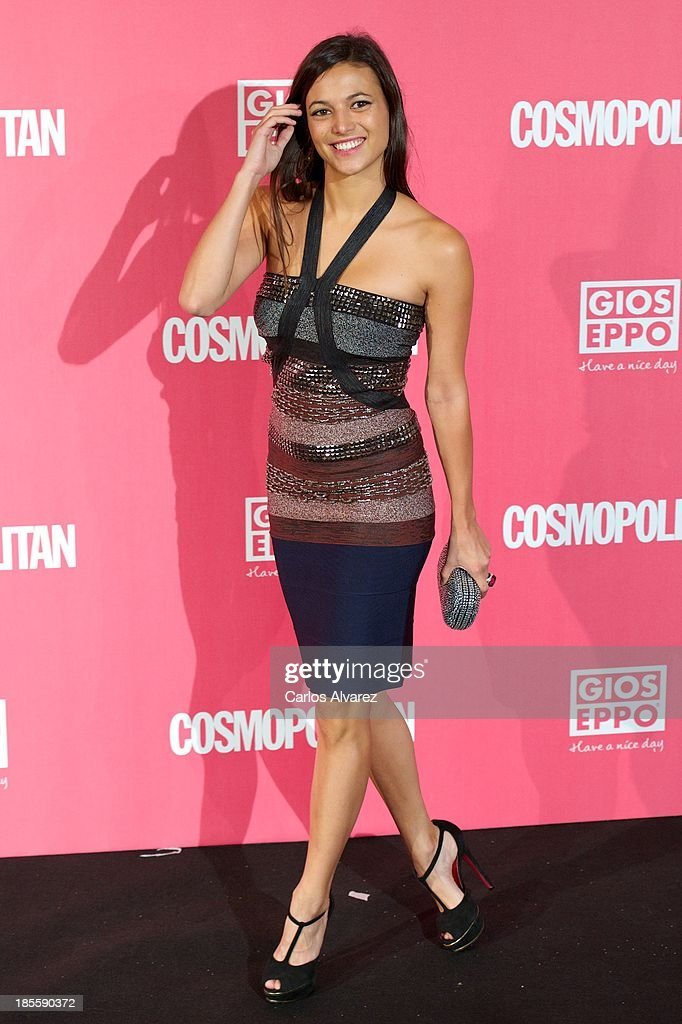 Spanish actress Elisa Mouliaa attends the Cosmopolitan Fun Fearless Female Awards 2013 at the Ritz Hotel on October 22, 2013 in Madrid, Spain.