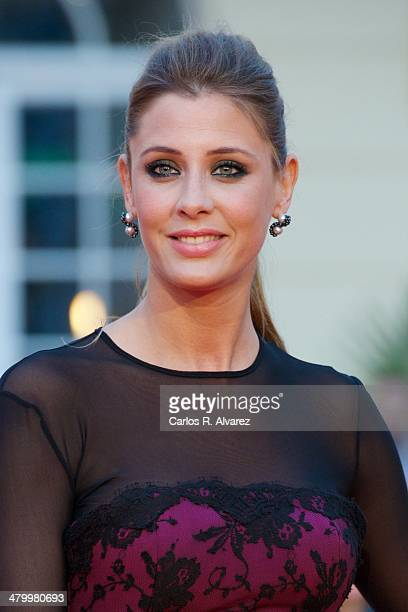 Spanish actress Elizabeth Reyes attends the 17th Malaga Film Festival 2014 opening ceremony at the Cervantes Theater on March 21 2014 in Malaga Spain