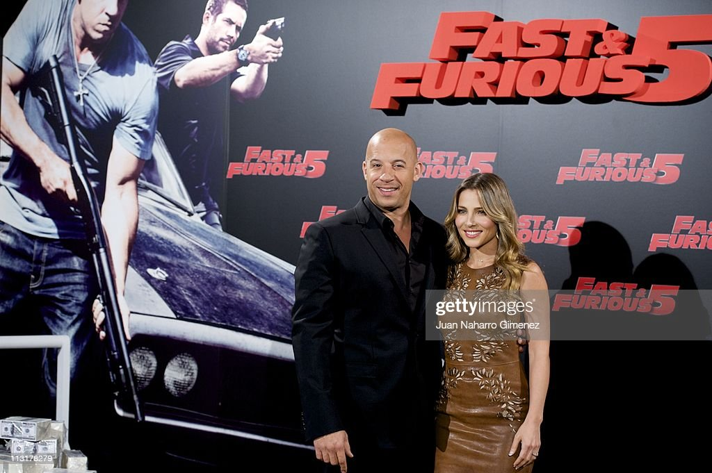 Elsa Pataky And Vin Diesel Fast And Furious 8