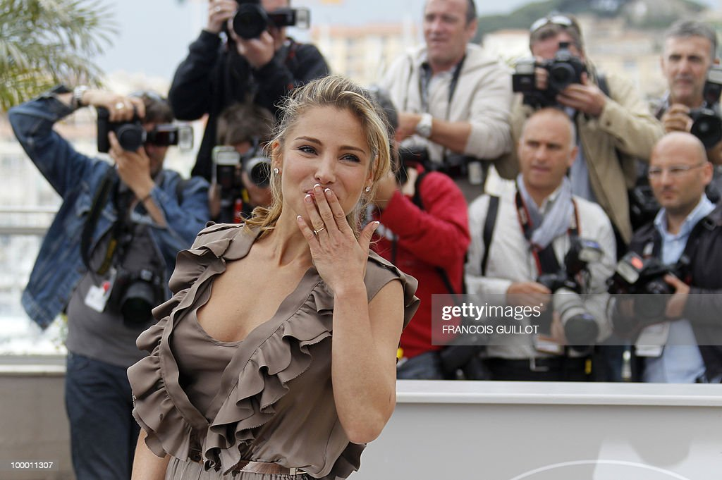 Spanish actress Elsa Pataky poses during the photocall in homage to Spanish cinema at the 63rd Cannes Film Festival on May 15, 2010 in Cannes.