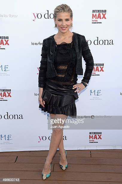Spanish actress Elsa Pataky presents her new book 'Intensidad Max' on June 4 2014 in Madrid Spain