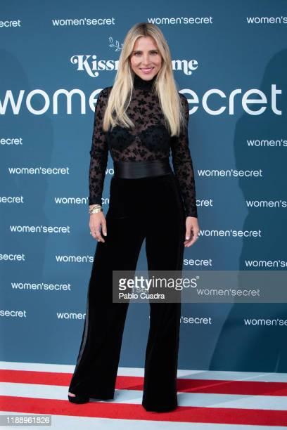 Spanish actress Elsa Pataky presents 'KissMas Time' by Women'Secret at Santa Barbara Palace on November 20, 2019 in Madrid, Spain.