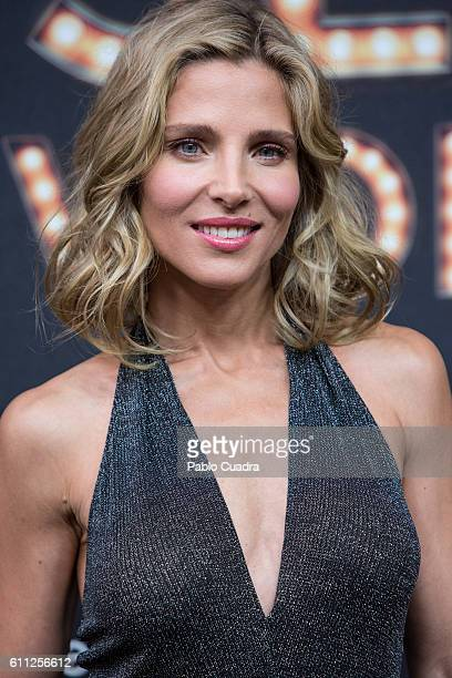 Spanish actress Elsa Pataky presents the new Women'Secret musical on September 29 2016 in Madrid Spain