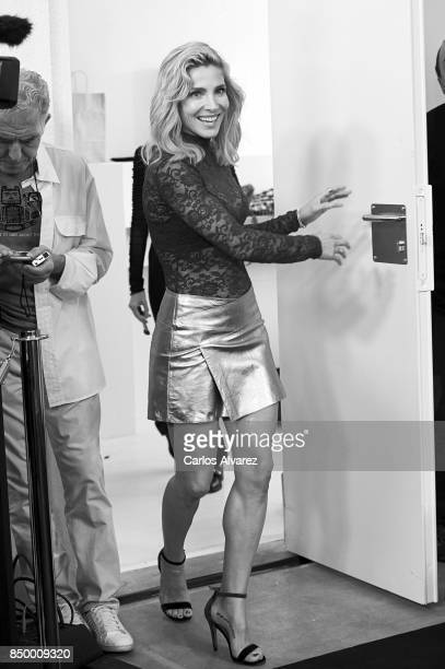 Spanish actress Elsa Pataky presents Women'Secret new campaign on September 20 2017 in Madrid Spain