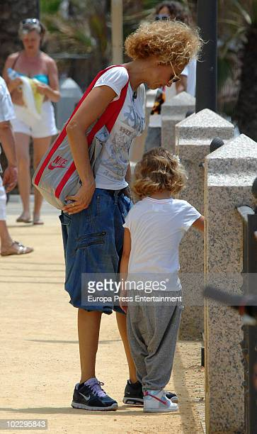 Spanish actress Esther Arroyo is sighted on June 22 2010 in Marbella Spain