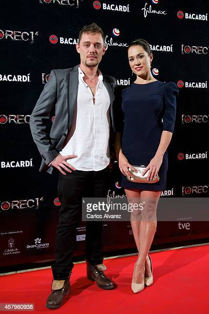 Spanish actress Eva Marciel attends the 'REC 4' premiere at the Capitol cinema on October 27 2014 in Madrid Spain