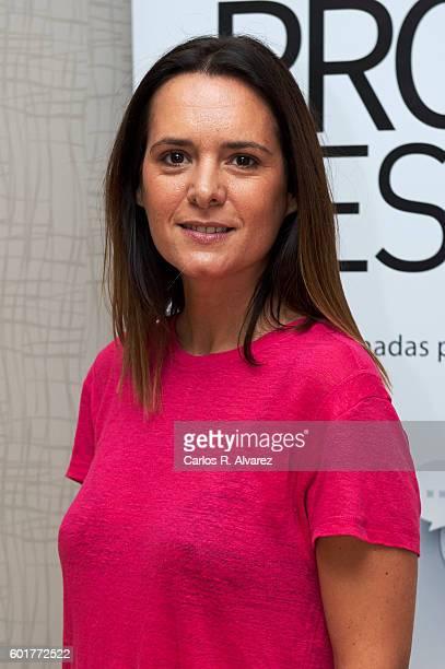 """Spanish actress Eva Santolaria attends """"Fisica o Quimica"""" photocall at Palacio de Congresos during FesTVal 2016 - Closing Day on September 10, 2016..."""