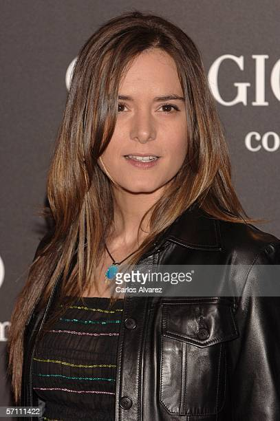 Spanish actress Eva Santolaria attends the Spanish premiere for Volver at the Palacio de la Musica Cinema on March 16 2006 in Madrid Spain
