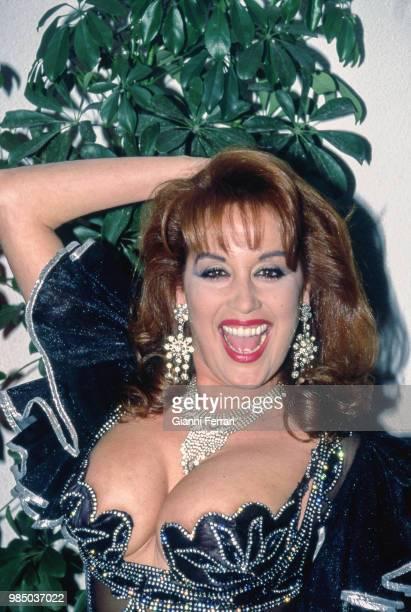 Spanish actress Fedra Lorente Madrid Spain