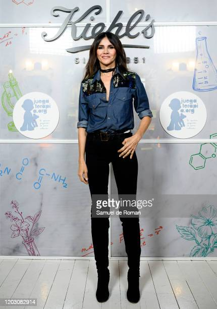 Spanish actress Goya Toledo attends during Kiehl's Since 1851 Celebrates 'Redondea Sonrisas' Charity Project on January 30 2020 in Madrid Spain