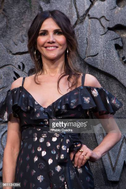 Spanish actress Goya Toledo attends the 'Jurassic World Fallen Kindom' premiere at WiZink Center on May 21 2018 in Madrid Spain