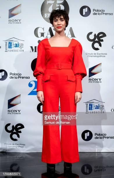 Spanish actress Greta Fernandez attends Cinema Writers Circle awards 2020 at Palacio de la Prensa on January 20 2020 in Madrid Spain