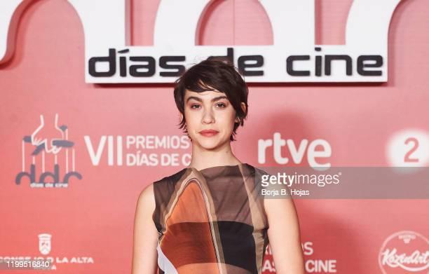 Spanish actress Greta Fernandez attends 'Dias de Cine' photocall awards at Reina Sofia Art Museum on January 14 2020 in Madrid Spain