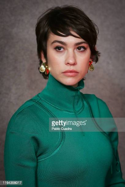 Spanish actress Greta Fernandez attends the Candidates to Goya Cinema Awards party at Florida Retiro on December 16 2019 in Madrid Spain